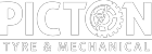 picton tyre and mechanical logo