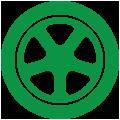 wheel balance icon