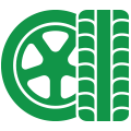 picton tyre and mechanical tyre icon